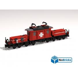 NOTICE DE MONTAGE NILLBRICKS LE TRAIN SUISSE REF : NM00014