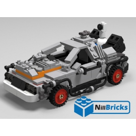 NOTICE DE MONTAGE NILLBRICKS DELOREAN 3 REF : NM00017