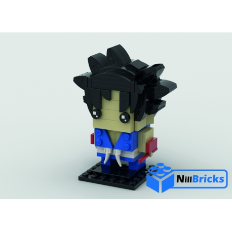 NOTICE DE MONTAGE NILLBRICKS GOKU BRICKHEADZ : NM00019