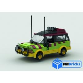 NOTICE DE MONTAGE NILLBRICKS 4X4 JEEP JURASSIC PARC : NM00022