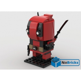 NOTICE DE MONTAGE NILLBRICKS DEADPOOL BRICKHEADZ : NM00026