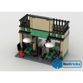 NOTICE DE MONTAGE NILLBRICKS STARBUCKS CAFE LEGO : NM00027