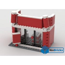 NOTICE DE MONTAGE NILLBRICKS LEGO MAGASIN COCA : NM00030