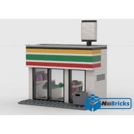 NOTICE DE MONTAGE NILLBRICKS LEGO MAGASIN SEVEN ELEVEN : NM00031