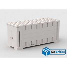 NOTICE DE MONTAGE NILLBRICKS CONTAINER BLANC LEGO : NM00033