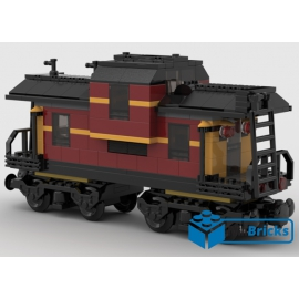 NOTICE DE MONTAGE NILLBRICKS WAGON 1 DARK RED : 00037