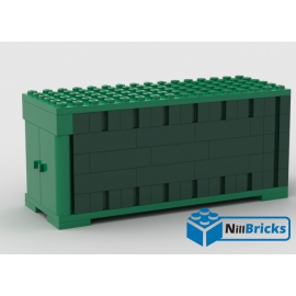 NOTICE DE MONTAGE NILLBRICKS CONTAINER VERT : NM00038