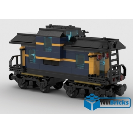 NOTICE DE MONTAGE NILLBRICKS WAGON 2 DARK BLUE : NM00039