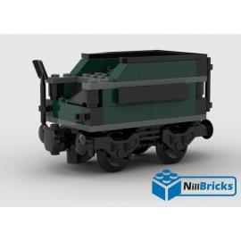NOTICE DE MONTAGE NILLBRICKS WAGON 4 POUR LOCO 2 WAGON A CHARBON LEGO : NM00043