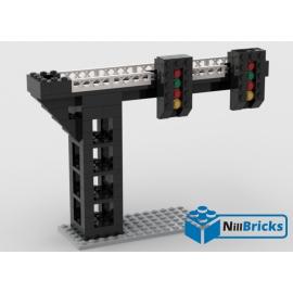 NOTICE DE MONTAGE NILLBRICKS SIGNAL DOUBLE CHEMIN DE FER LEGO : NM00045
