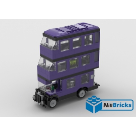 NOTICE DE MONTAGE NILLBRICKS BUS MAQIQUE VIOLET : NM00050