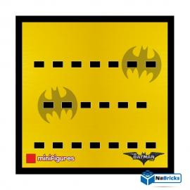 CADRE POUR MINIFIGURES (MINIFIGS) LEGO BATMAN MOVIE SERIE 1 NOIR NILLBRICKS ref : CM00003