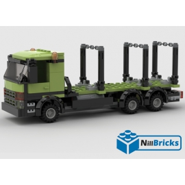 NOTICE DE MONTAGE NILLBRICKS CAMION FORESTIER : NM00060
