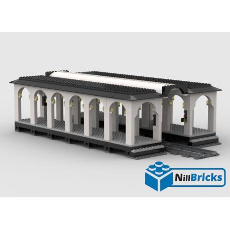 NOTICE DE MONTAGE NILLBRICKS GARE OUVERTE : NM00061