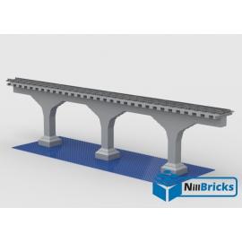 NOTICE DE MONTAGE NILLBRICKS PONT POUR TRAIN 2 : NM00075
