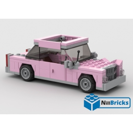 NOTICE DE MONTAGE NILLBRICKS VOITURE FAMILLE SIMPSONS : NM00078