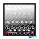 CADRE POUR MINIFIGURES (MINIFIGS) LEGO SERIE 9 25 X 25 CM NOIR NILLBRICKS ref : CM00036