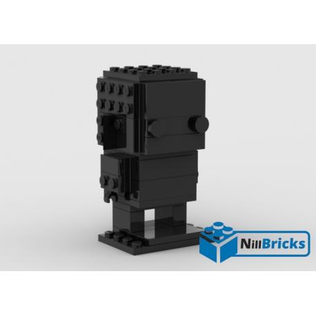 NOTICE DE MONTAGE NILLBRICKS BRICKHEADZ MONOCHROME 1 BLACK : NM00084