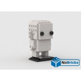 NOTICE DE MONTAGE NILLBRICKS BRICKHEADZ MONOCHROME 3 WHITE : NM00086