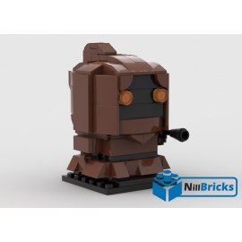 NOTICE DE MONTAGE NILLBRICKS BRICKHEADZ JAWA : NM00091