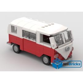 NOTICE DE MONTAGE NILLBRICKS COMBI VW 1 ROUGE : NM00102