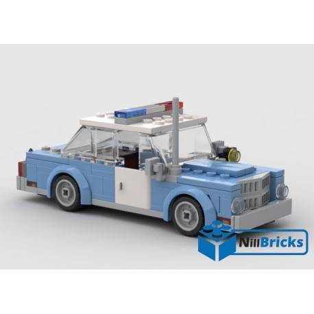 NOTICE DE MONTAGE NILLBRICKS GOTHAM POLICE CAR : NM00111