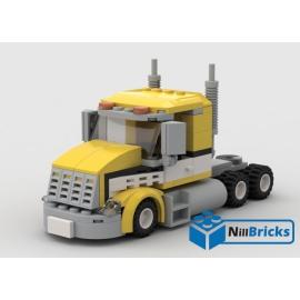 NOTICE DE MONTAGE NILLBRICKS TRUCK 5 JAUNE : NM00118
