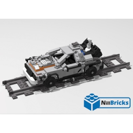NOTICE DE MONTAGE NILLBRICKS DELOREAN 4 : NM00121