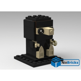 NOTICE DE MONTAGE NILLBRICKS BRICKHEADZ NIFLEUR : NM00127