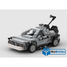 NOTICE DE MONTAGE NILLBRICKS DELOREAN 5 BTTF : NM00130