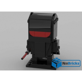 NOTICE DE MONTAGE NILLBRICKS BRICKHEADZ SW GARDE ROYAL NOIR : NM00133