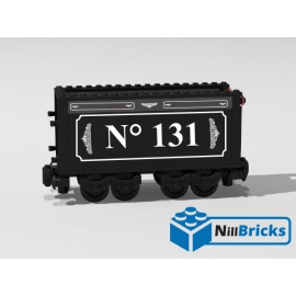NOTICE DE MONTAGE NILLBRICKS TENDER LOCO 131 BTTF : NM00136