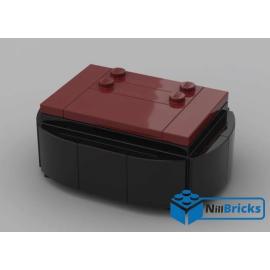 NOTICE DE MONTAGE NILLBRICKS SOCLE BRICKHEADZ 2 DARK RED : NM00138