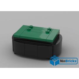 NOTICE DE MONTAGE NILLBRICKS SOCLE BRICKHEADZ 3 GREEN : NM00139