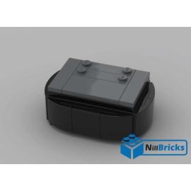 NOTICE DE MONTAGE NILLBRICKS SOCLE BRICKHEADZ 4 DARK BLUISH GRAY : NM00140