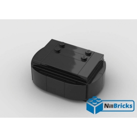NOTICE DE MONTAGE NILLBRICKS SOCLE BRICKHEADZ 5 BLACK : NM00143