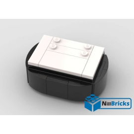 NOTICE DE MONTAGE NILLBRICKS SOCLE BRICKHEADZ 6 WHITE : NM00144
