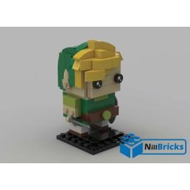 NOTICE DE MONTAGE NILLBRICKS LEGO BRICKHEADZ LINK ZELDA : NM00148