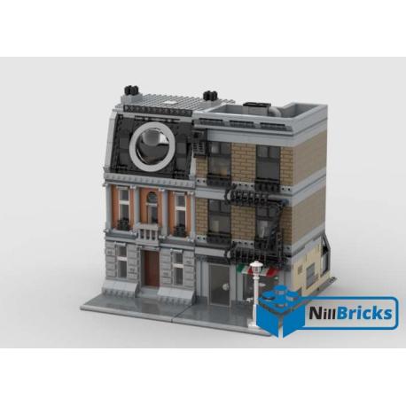 NOTICE DE MONTAGE NILLBRICKS LEGO SANCTUM SANCTORUM MODULAR : NM00149