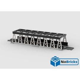 NOTICE DE MONTAGE NILLBRICKS LEGO PONT POUR TRAIN 5 NOIR : NM00152