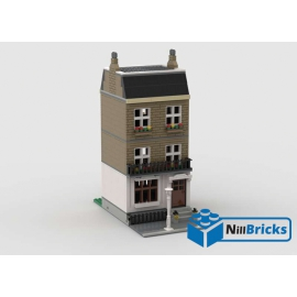 NOTICE DE MONTAGE NILLBRICKS LEGO MAISON DE VILLE 2 LONDON TOWNHOUSE : NM00153