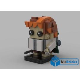 NOTICE DE MONTAGE NILLBRICKS LEGO BRICKHEADZ SAM LOTR : NM00158