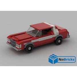 NOTICE DE MONTAGE NILLBRICKS LEGO FORD GRAND TORINO STARSKY & HUTCH : NM00159
