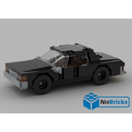 NOTICE DE MONTAGE NILLBRICKS LEGO CHEVROLET CAPRICE NOIR : NM00161