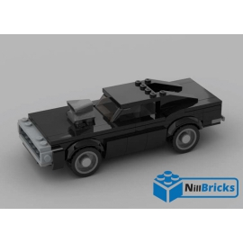 NOTICE DE MONTAGE NILLBRICKS LEGO DODGE CHARGER FAST & FURIOUS : NM00166
