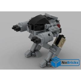 NOTICE DE MONTAGE NILLBRICKS LEGO ED 209 ROBOCOP : NM00170