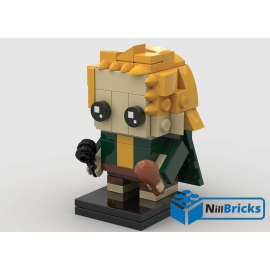 NOTICE DE MONTAGE NILLBRICKS LEGO BRICKHEADZ MERIADOC LOTR : NM00173