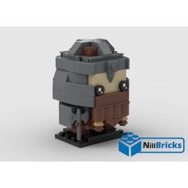 NOTICE DE MONTAGE NILLBRICKS LEGO BRICKHEADZ GIMI LOTR : NM00175