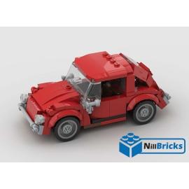 NOTICE DE MONTAGE NILLBRICKS LEGO VOLKSWAGEN COX ROUGE : NM00176