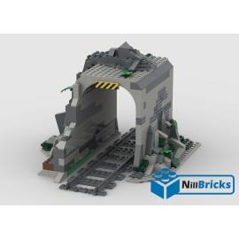 NOTICE DE MONTAGE ARCHE TRAIN 2 LEGO CRÉATION NILLBRICKS REF : NM00185